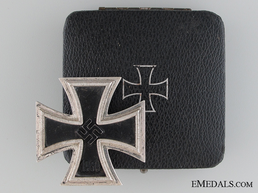 eMedals-An Iron Cross First Class 1939 by B. H. Mayer, Pforzheim
