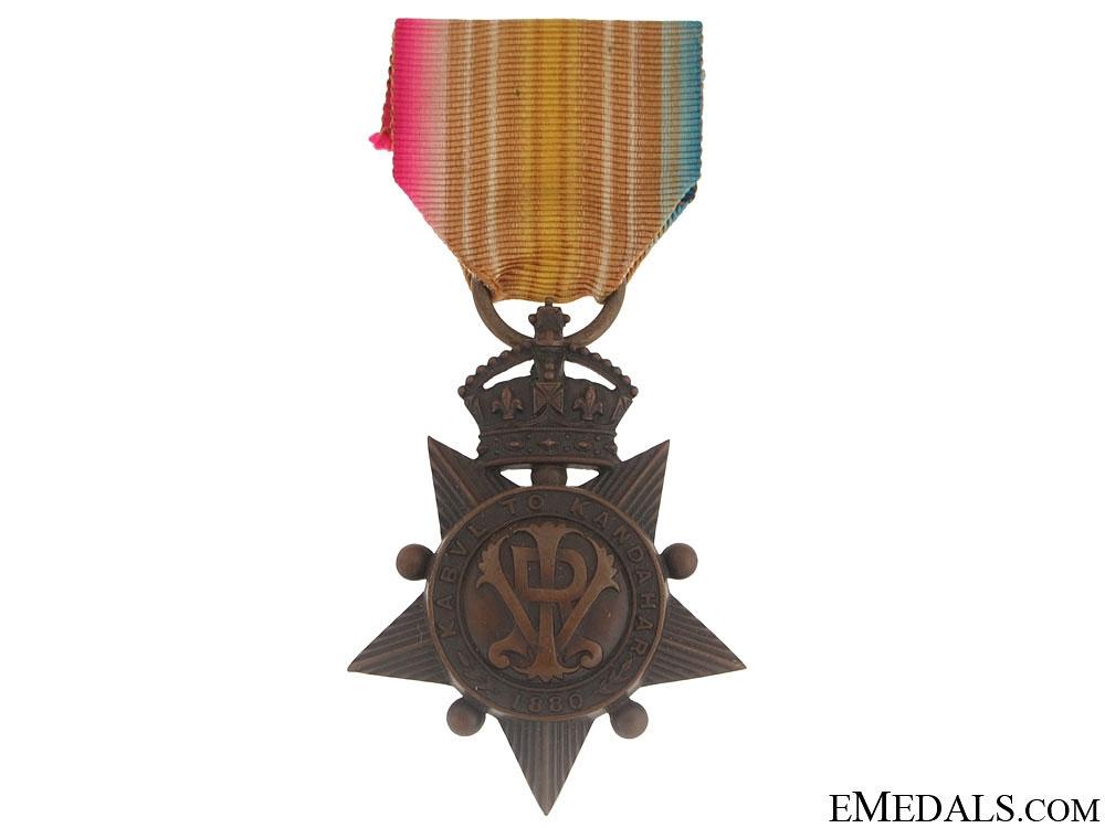 eMedals-Kabul to Kandahar Star 1881 - Named