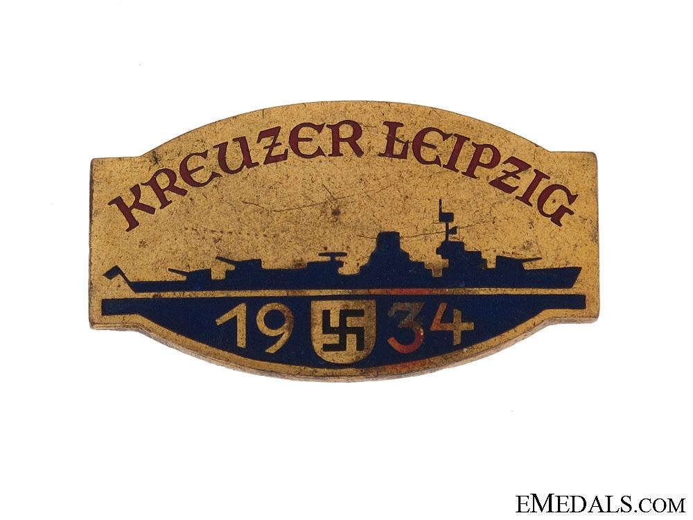 "eMedals-""Kreuzer Leipzig"" Pin"