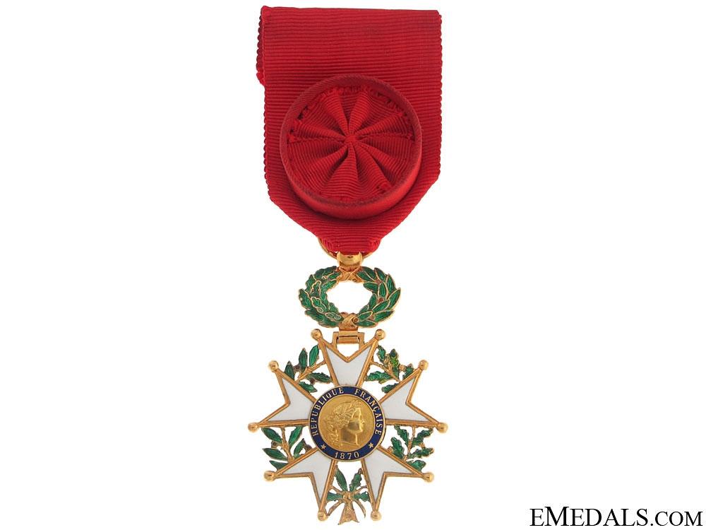 eMedals-Legion D'Honneur – Officer 1870-1951