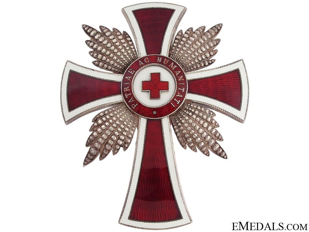 eMedals-Merit Order of the Red Cross