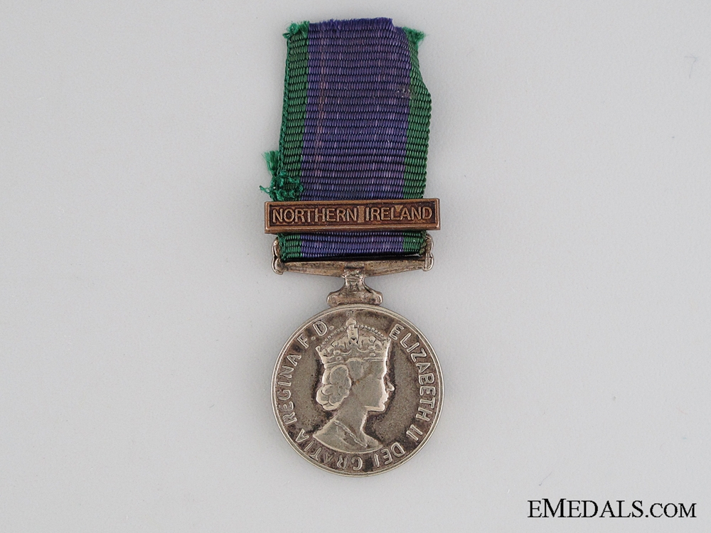 eMedals-Miniature General Service Medal 1962-2007