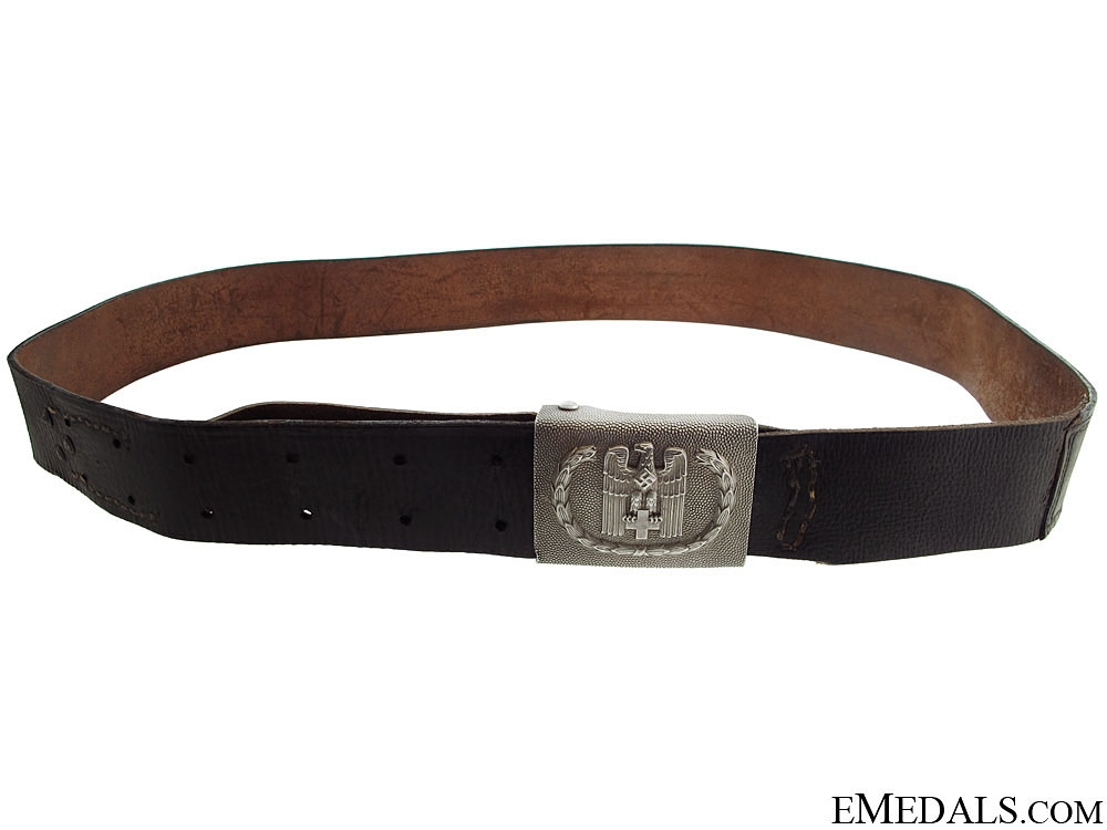 eMedals-Red Cross Enlisted Belt & Buckle