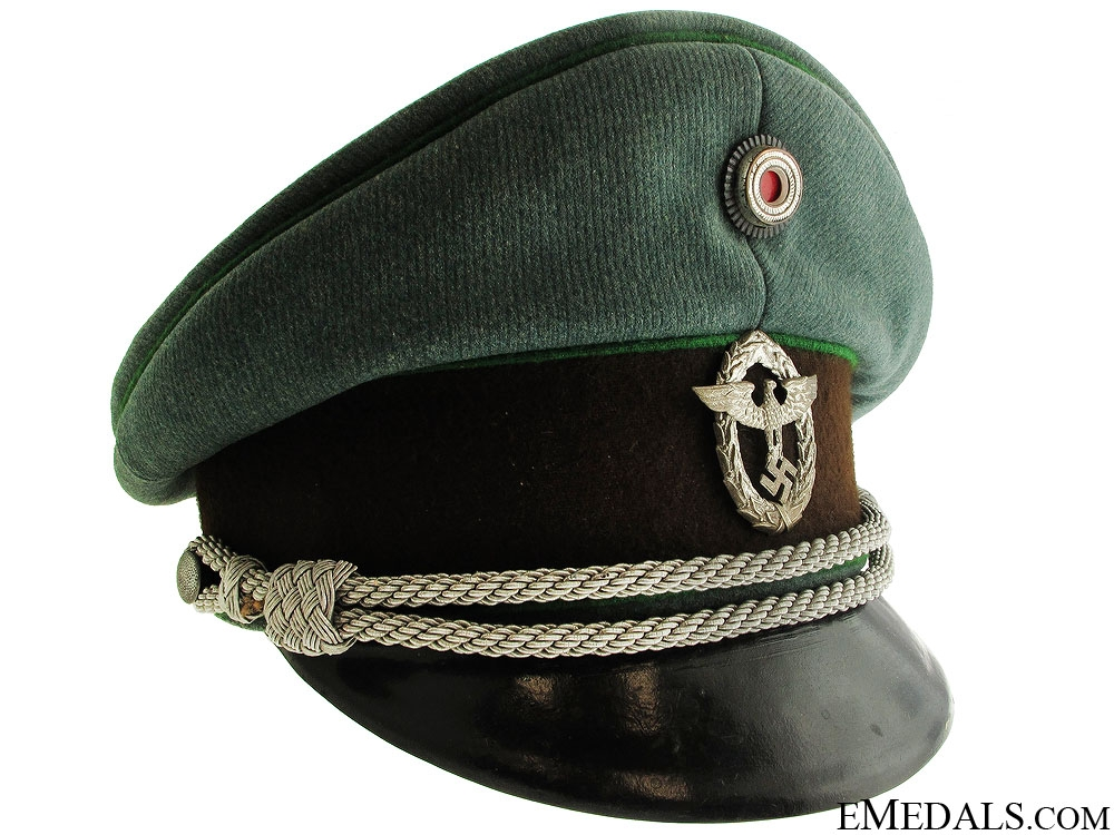 eMedals-Reich Protection Police Officer's Visor Cap