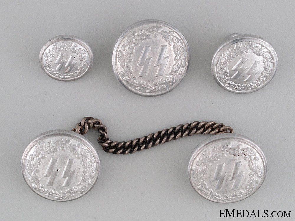 eMedals-Set of SS Buttons for a formal Tunic