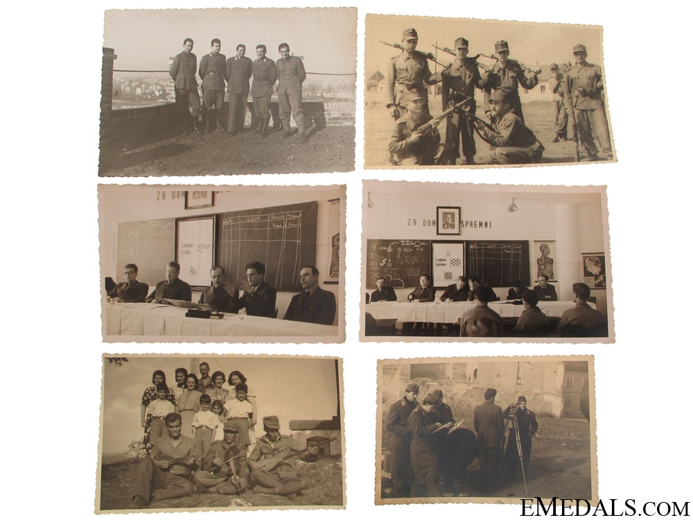 eMedals-Six Large Photos – Domobrani