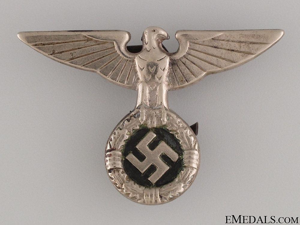 eMedals-SS-NSDAP Cap Eagle - 1934 Pattern