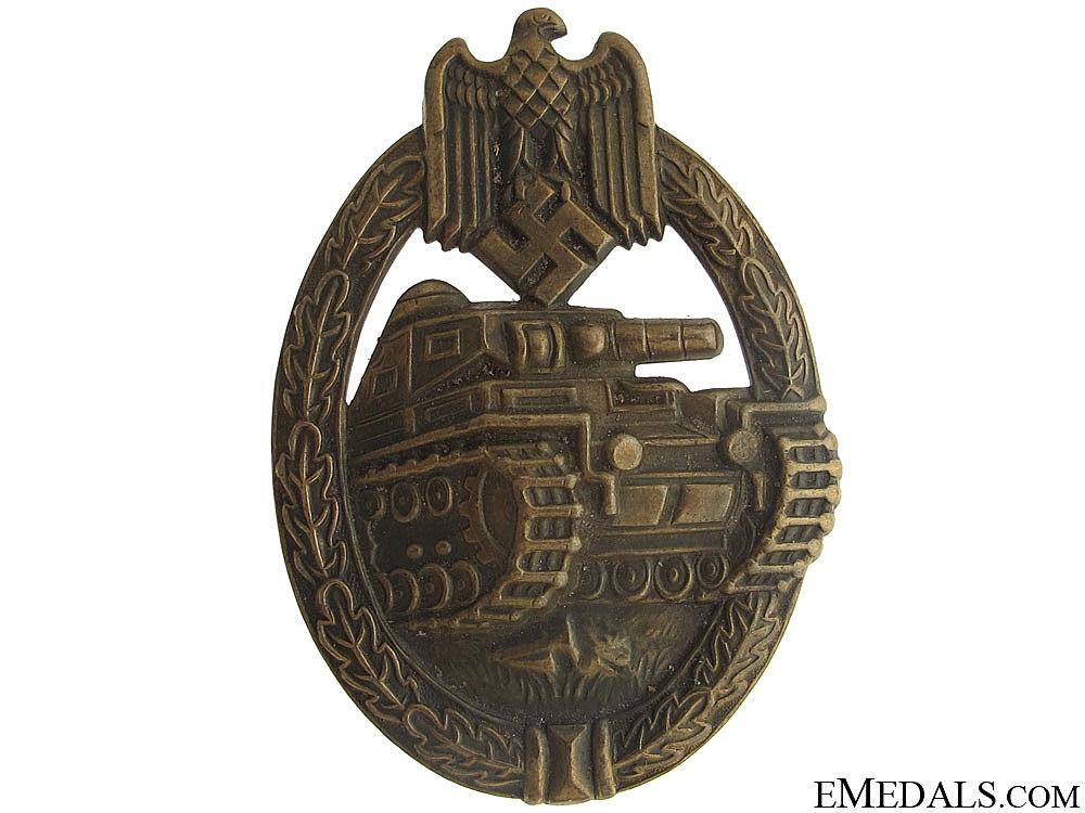 eMedals-Tank Assault Badge – Bronze