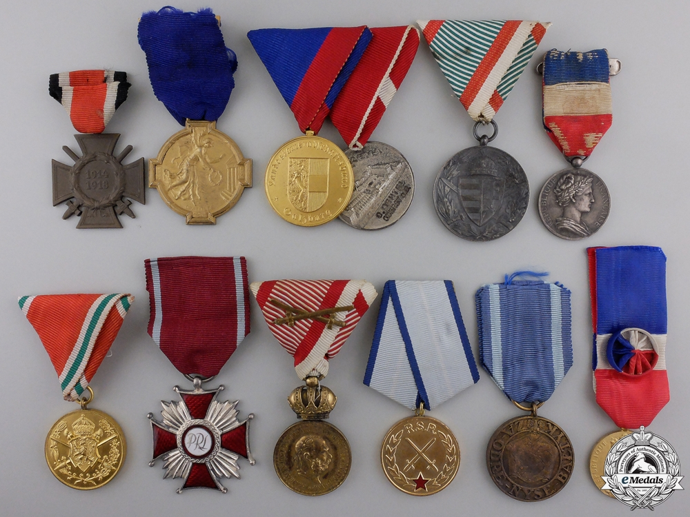 eMedals-Twelve European Medals and Awards