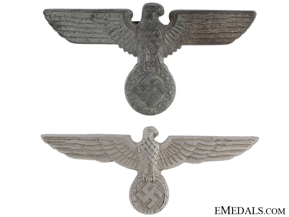 eMedals-Two Cap Eagles