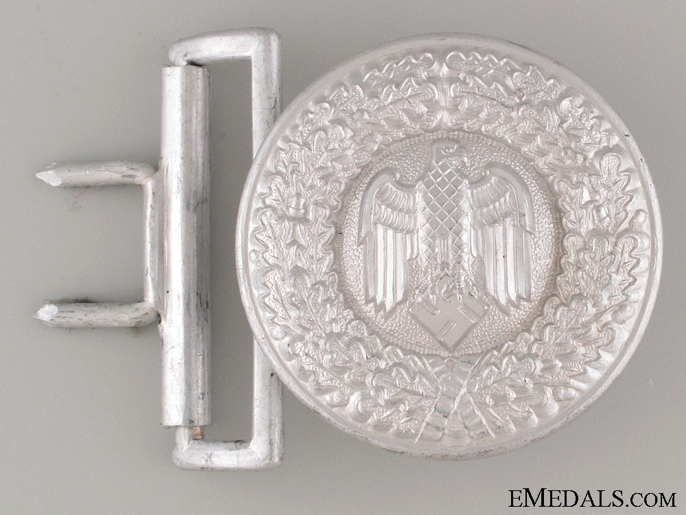 "eMedals-Wehrmacht Army Officer""¢¯s Buckle"