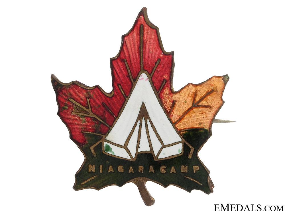 eMedals-WWI Niagara Camp Sweetheart Pin