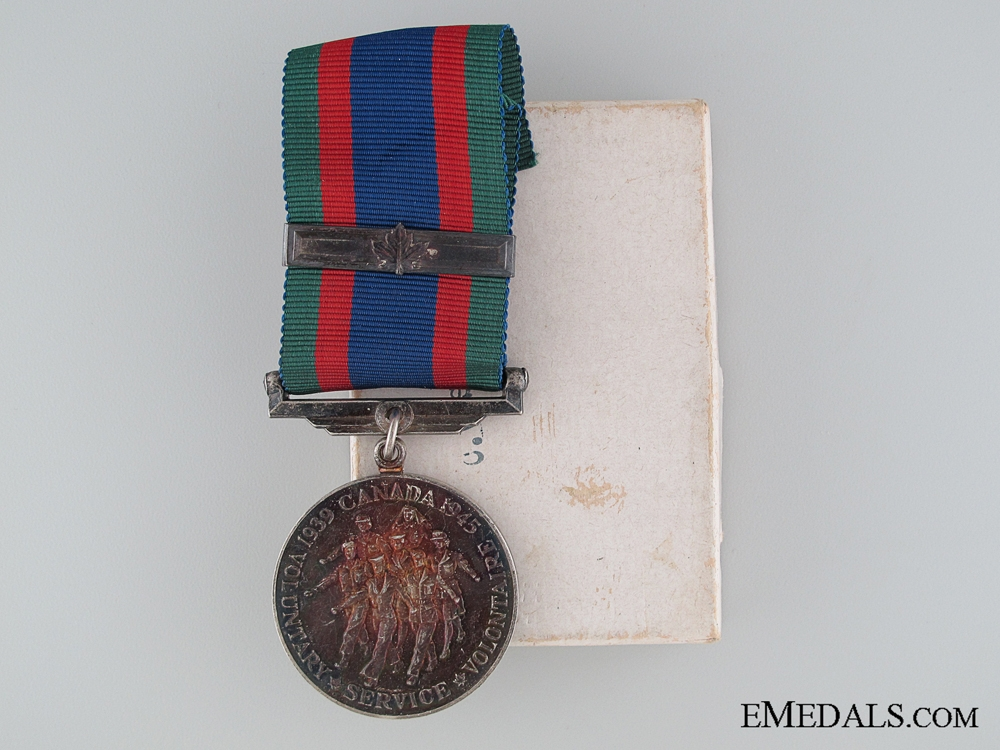 eMedals-WWII Canadian Volunteer Service Medal in Issue Box