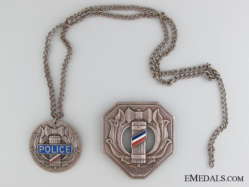 eMedals-WWII Vichy National Police Collection