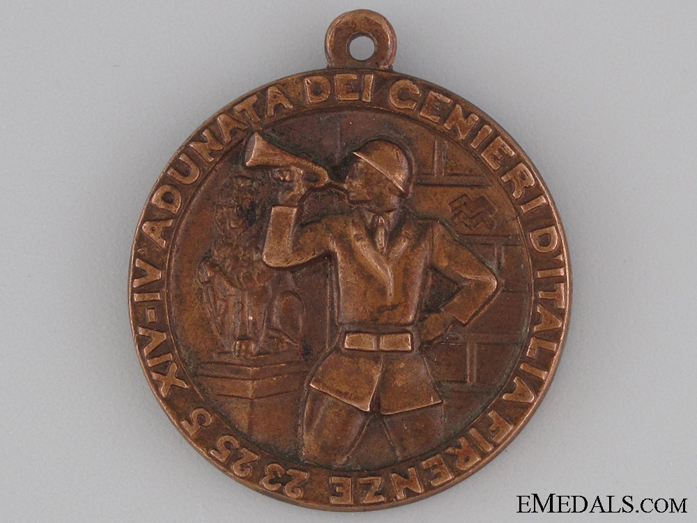 eMedals-XIV-IV Army Engineers Gathering in Florence Medal