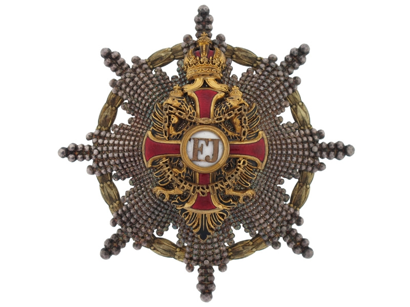 eMedals-Order of Franz Joseph - Grand Cross Star