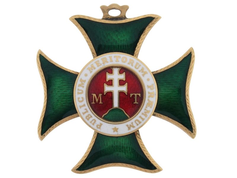 eMedals-Royal Hungarian Order of Saint Stephen