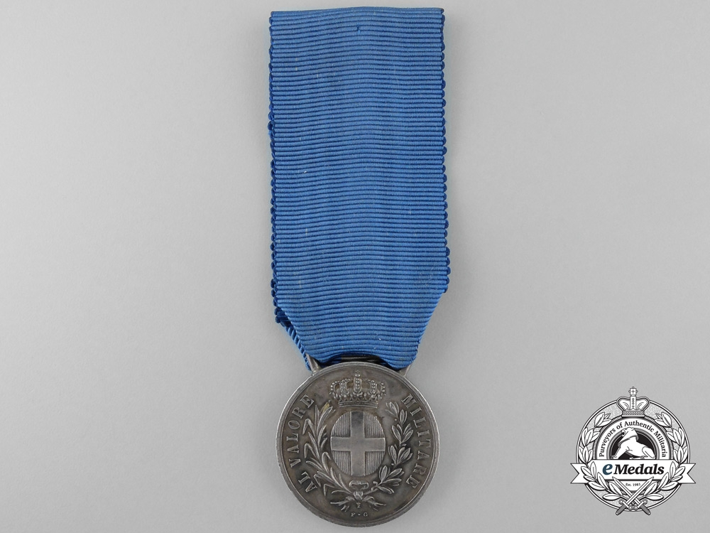 eMedals-Italy, Kingdom. An Al Valore Militare Medal for the Storming of Monte Cucco, c.1917