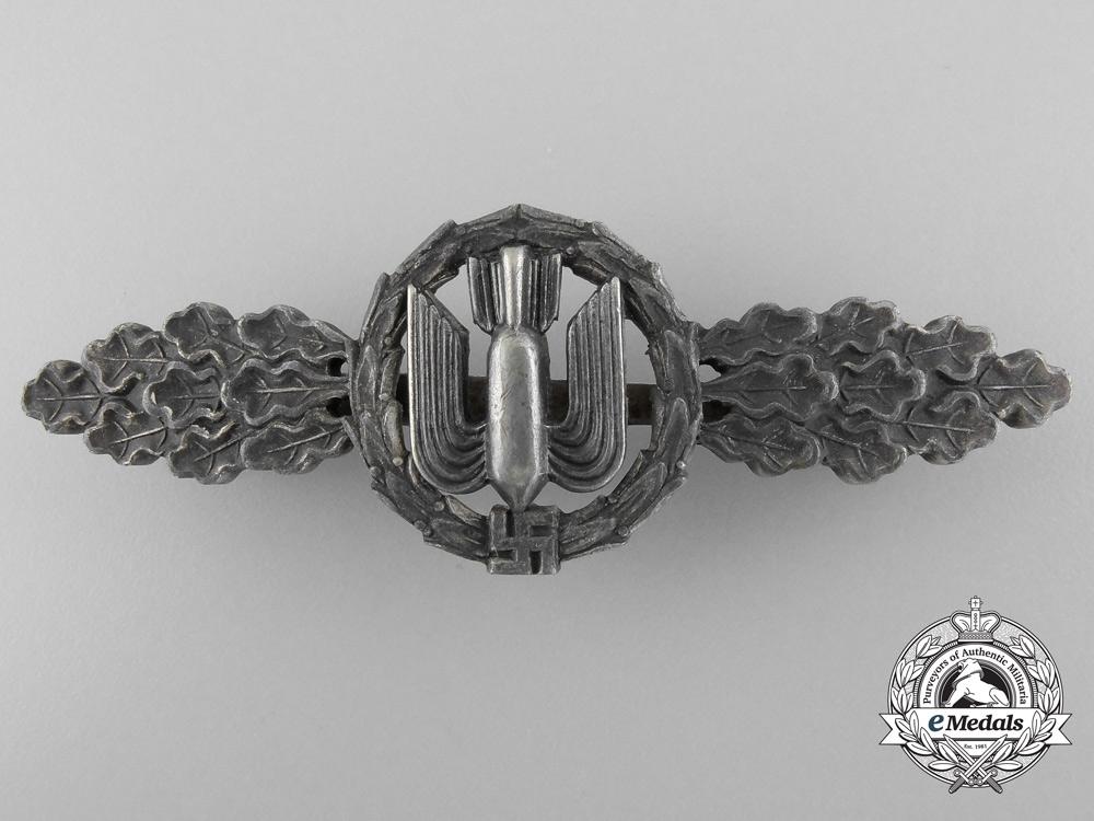 eMedals-A Luftwaffe Bomber Flight Clasp; Silver Grade