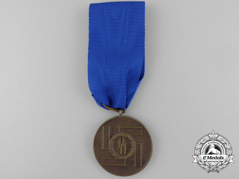 eMedals-A SS Long Service Award for Eight Years' Service by Deschler & Söhn
