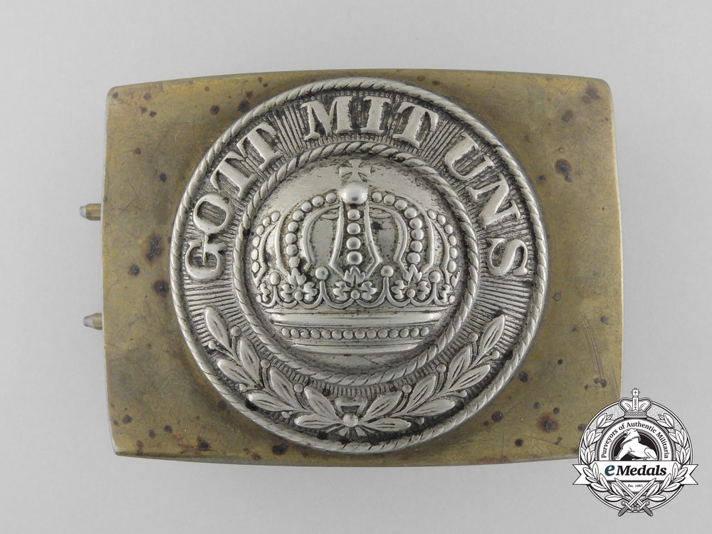 eMedals-A First War Prussian Army (Heer) Belt Buckle