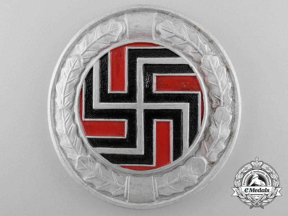 eMedals-A Second War Badge of the German Regiment (Croatian Army)