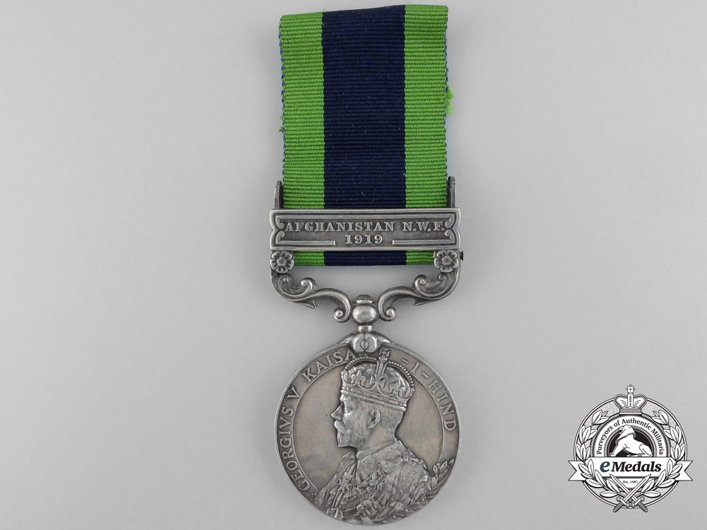 eMedals-A 1909 India General Service Medal to Captain Hodson; 64th Mule Corps