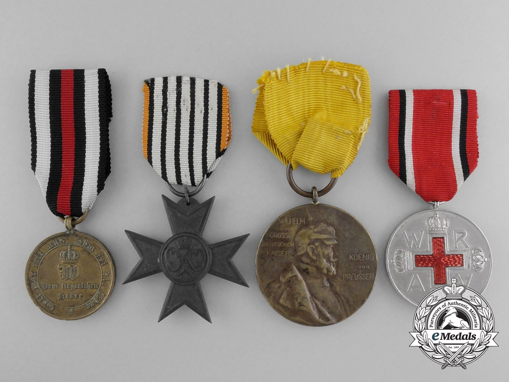 eMedals-Four Prussian Medals and Awards