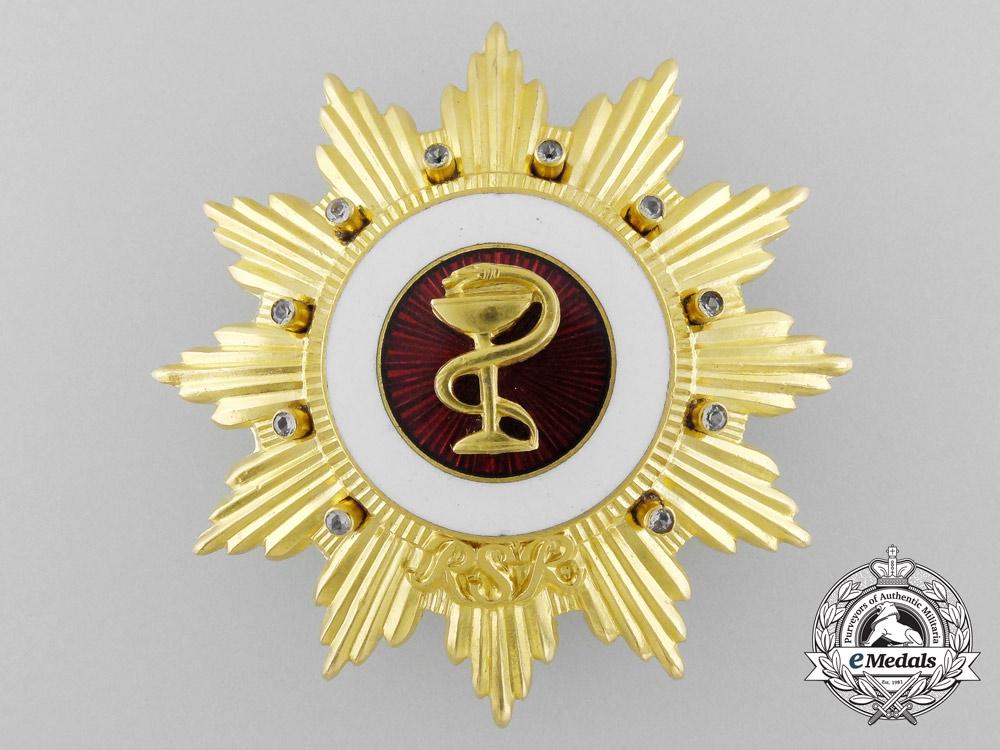 eMedals-A Romanian Socialist Republic Order of Medical Merit; 1st Class Star