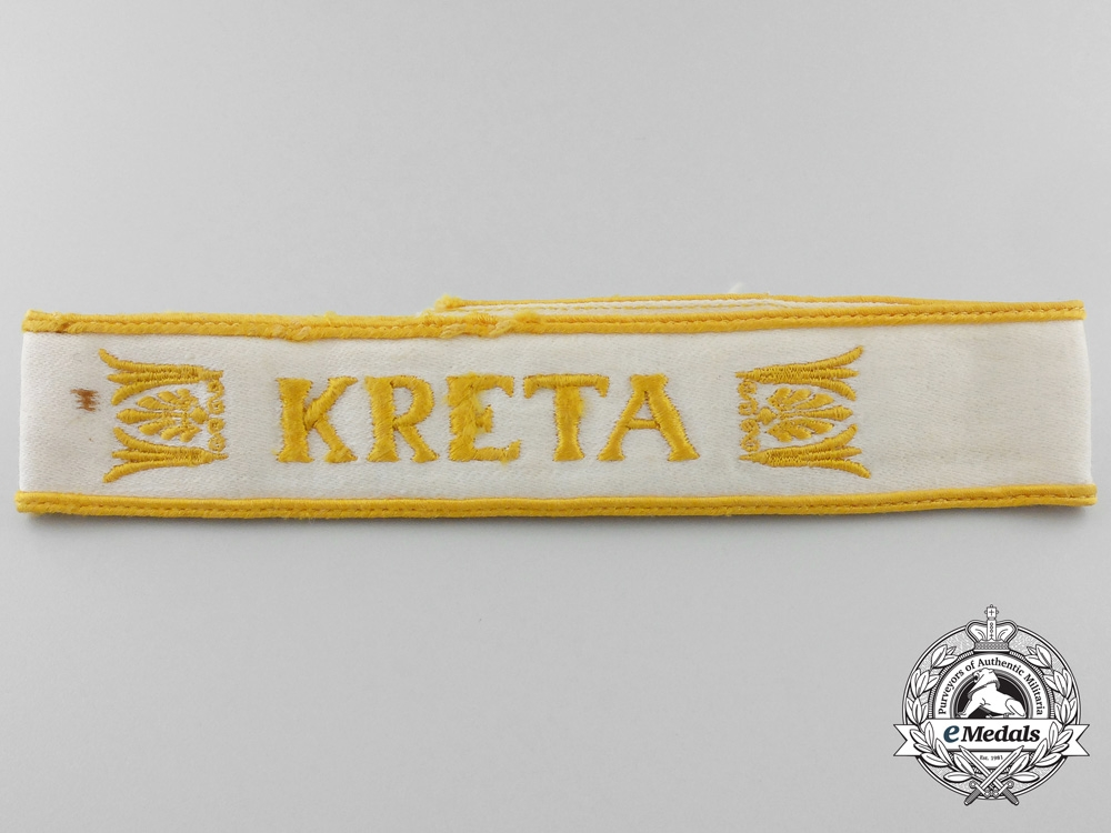eMedals-A Tunic Removed Kreta Campaign Cufftitle