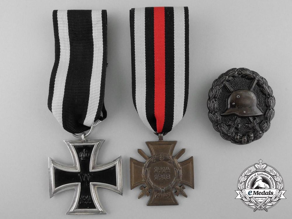 eMedals-Three First War German Medals & Awards
