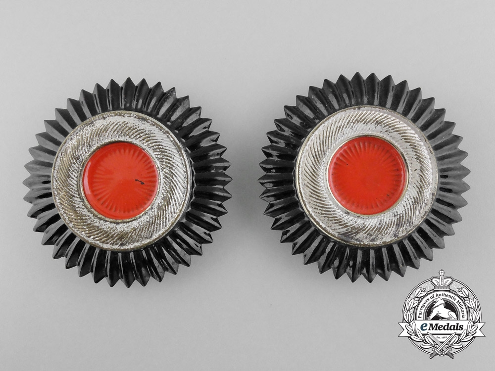 eMedals-Two Large Pickelhaube Cockades