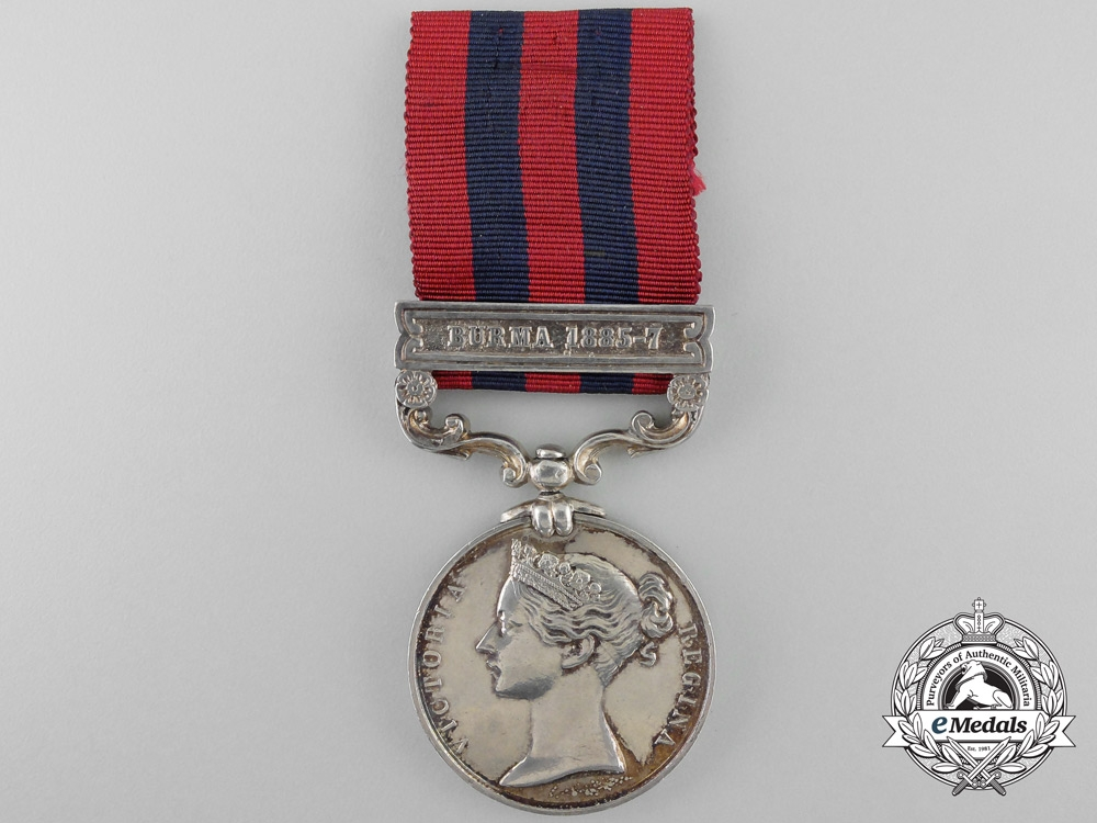 eMedals-An 1854-1895 India General Service Medal to the Royal Scottish Fusiliers