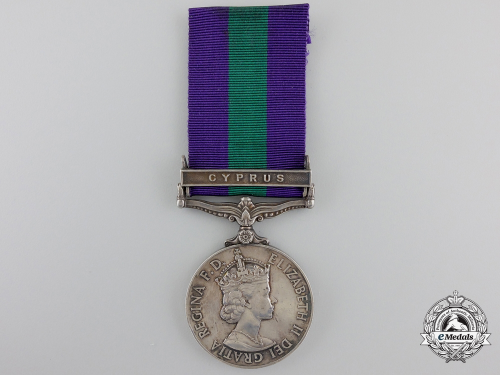 eMedals-A 1918-62 General Service Medal to the Army Pay Corps