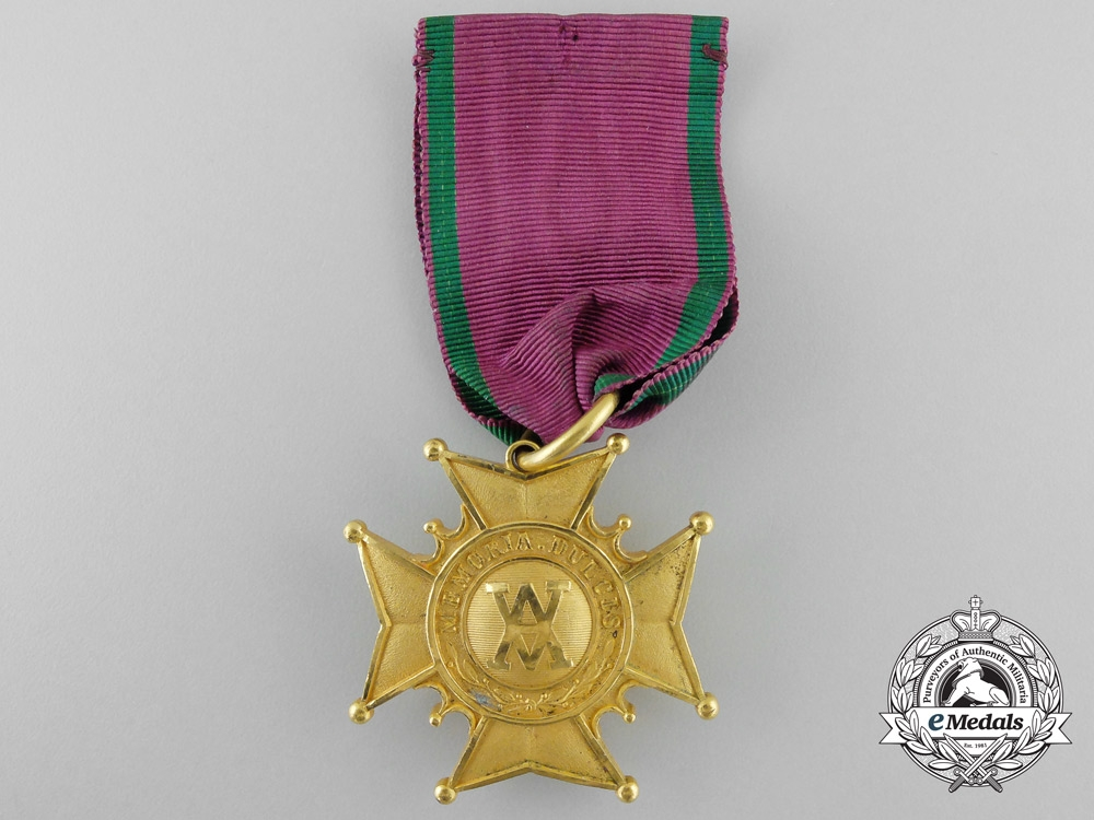 eMedals-A Swedish Grand Order of the Amaranth; Gold Grade Medal
