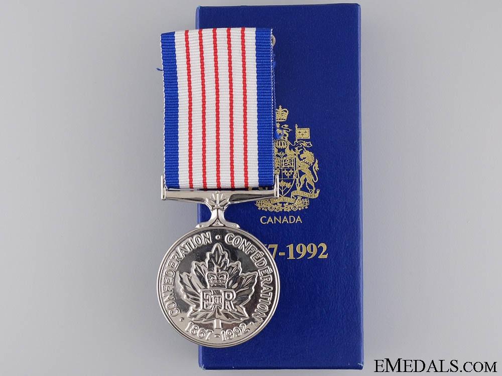 eMedals-A 125 Year Canadian Confederation Medal