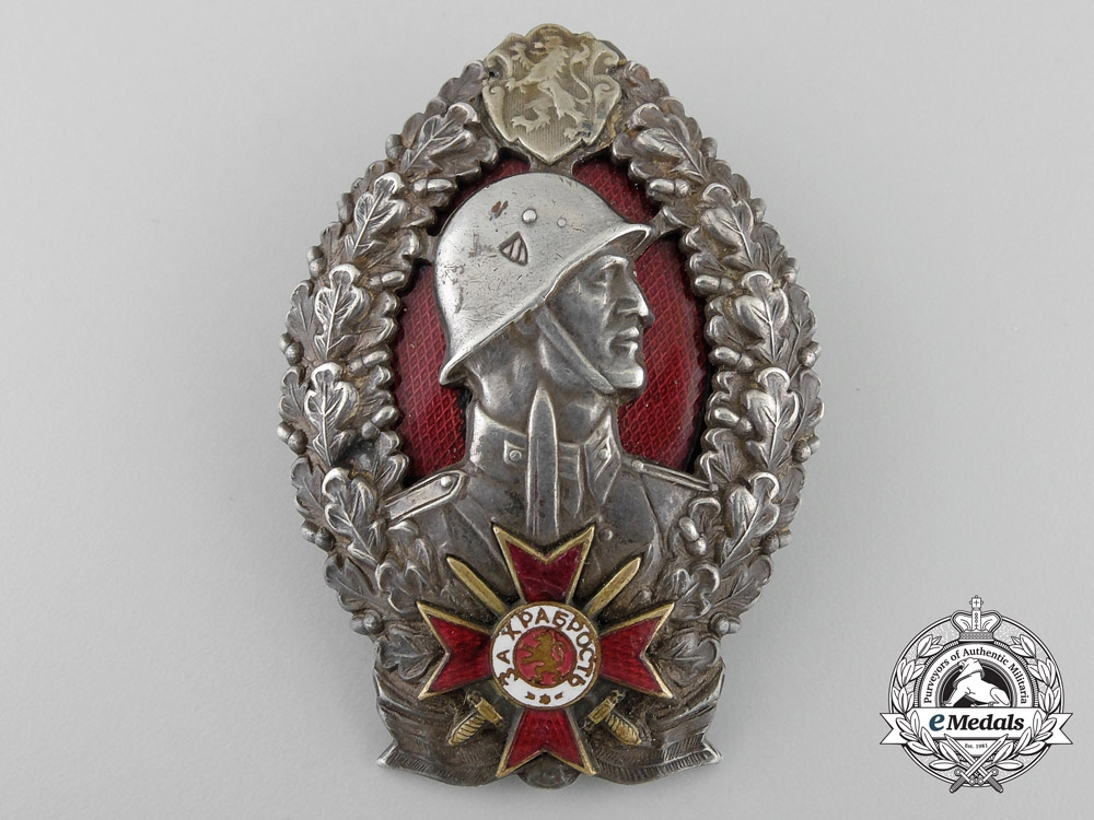 eMedals-A Bulgarian Infantry Leader's 2nd Class Officer's Badge