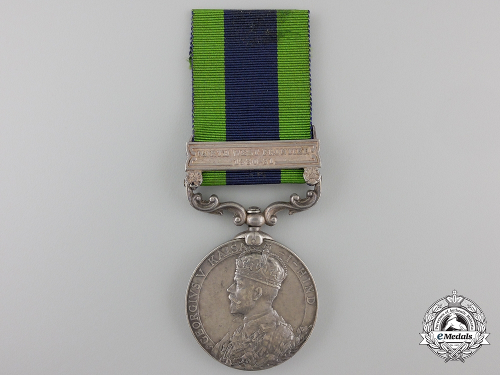 eMedals-An India General Service Medal 1908-1935 to the 153rd Punjabis