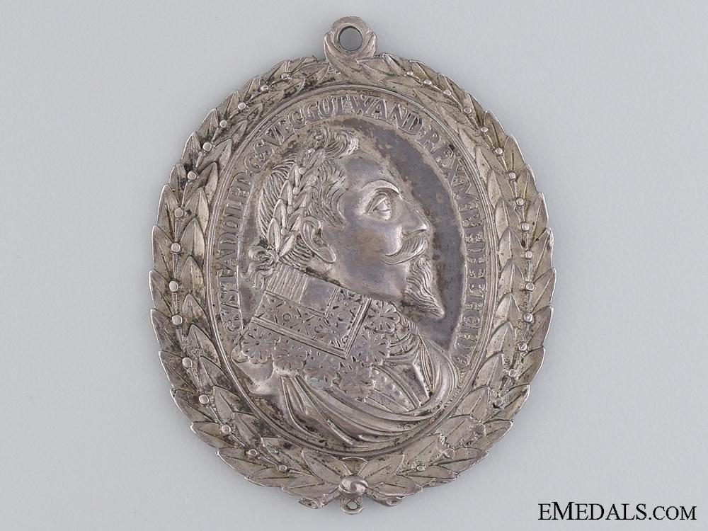 eMedals-A 1611-1632 Swedish Bravery Medal; Gustav Adolf II