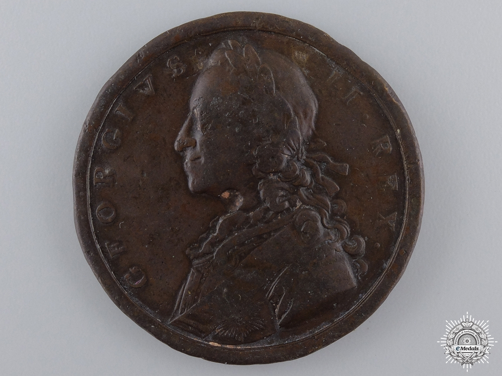 eMedals-A 1758 George II British Military Victories Medal