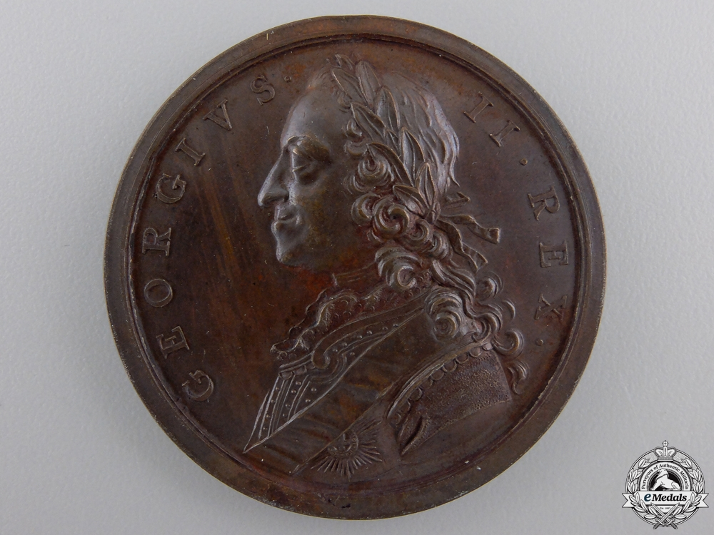 eMedals-A 1759 Seven Years' War Campaign Medal