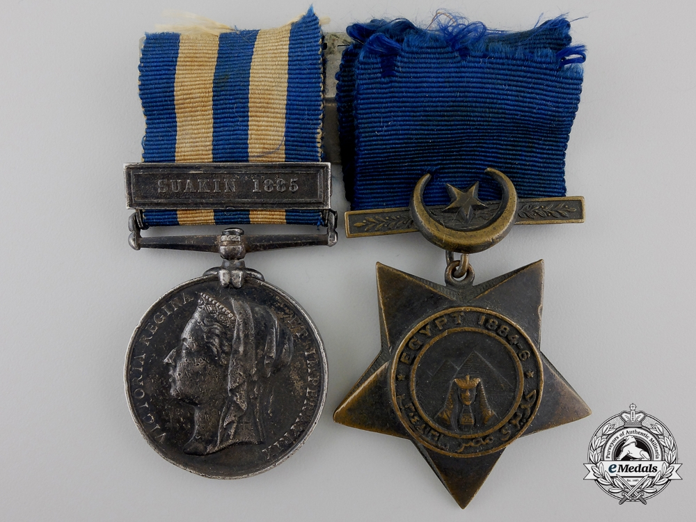 eMedals-An Egypt Pair to the 2nd Battalion, Scots Guards