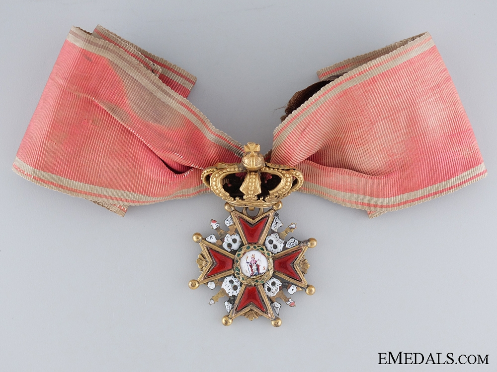 eMedals-A 1807-1815 Order of the White Eagle with Crown; Duchy of Warsaw