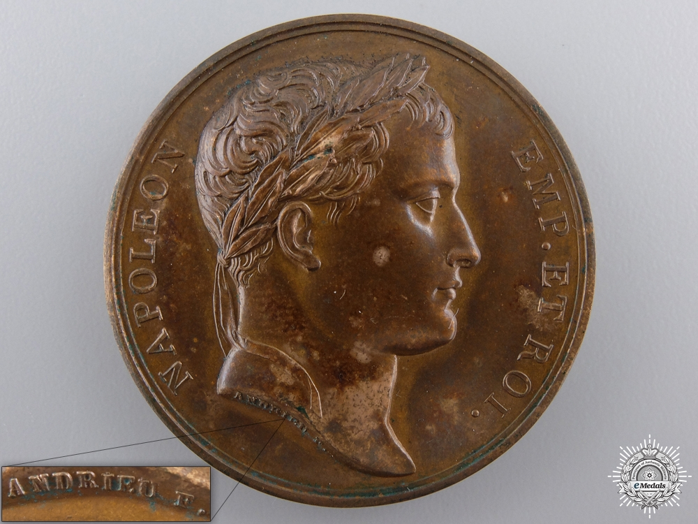 eMedals-A 1812 Napoleon Bonaparte's Entry into Moscow Medal