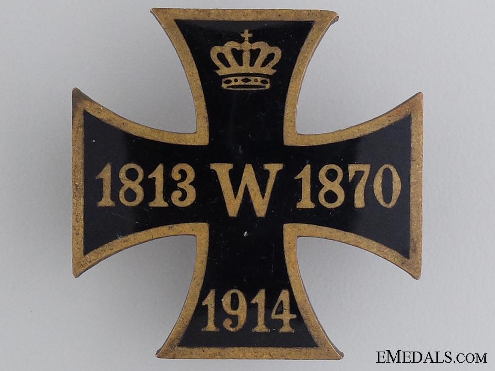 eMedals-A 1813. 1870, 1914 Patriotic Iron Cross
