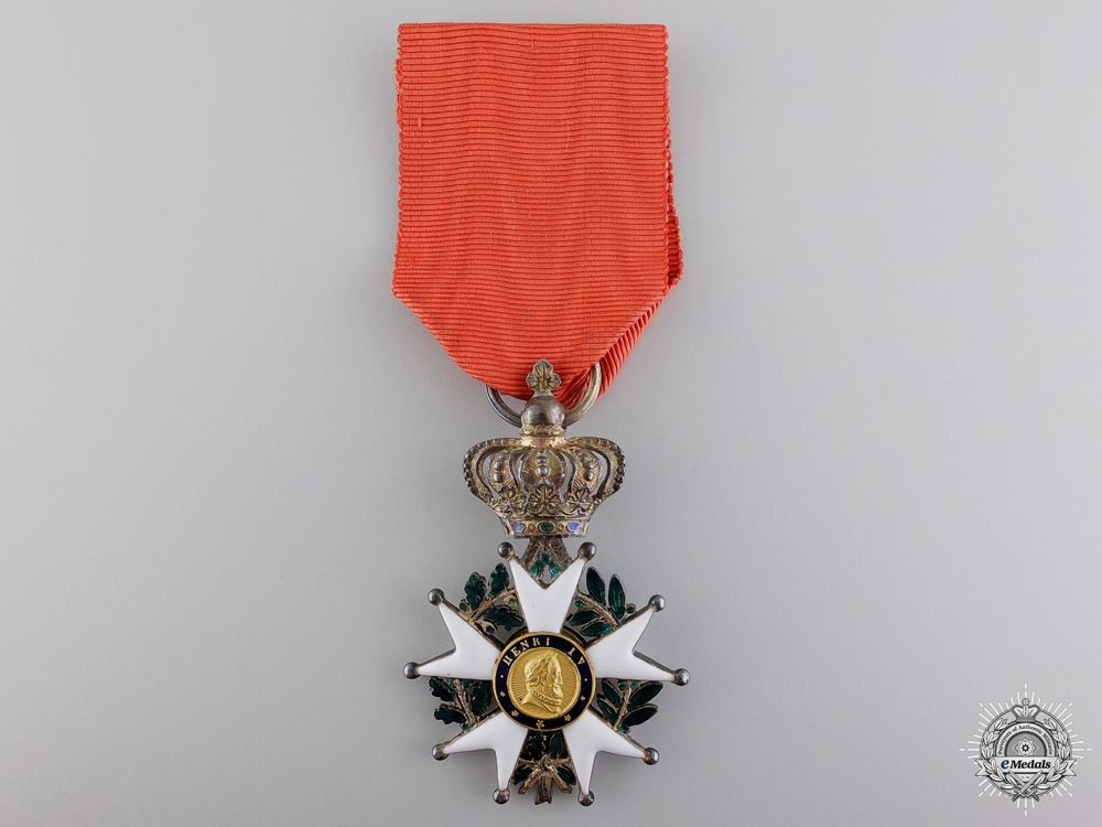 eMedals-A 1830-48 French Legion D'Honneur; Knight's Badge