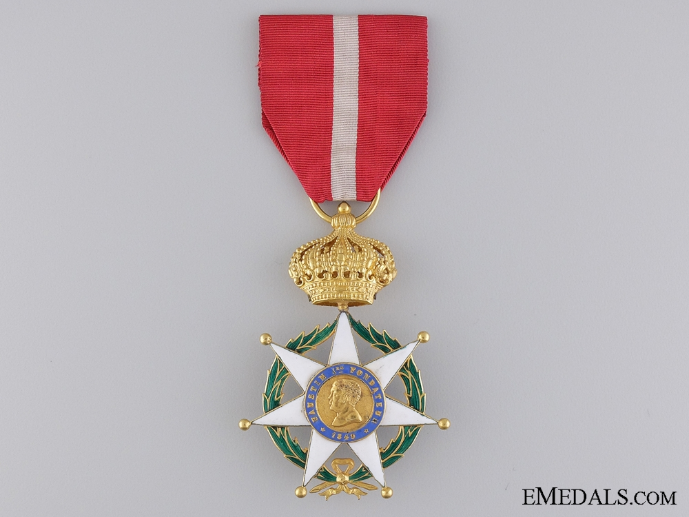 eMedals-A 1849 Haitian Legion of Honor; Officer in Gold