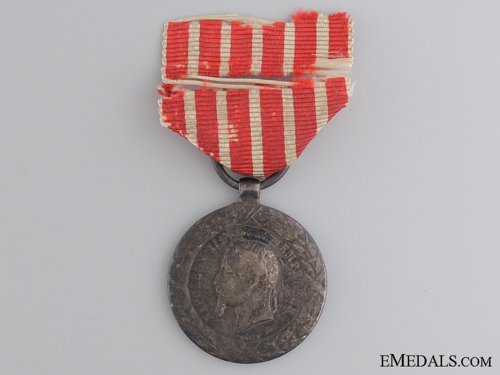 eMedals-A 1859 French Campaign Medal for Italy