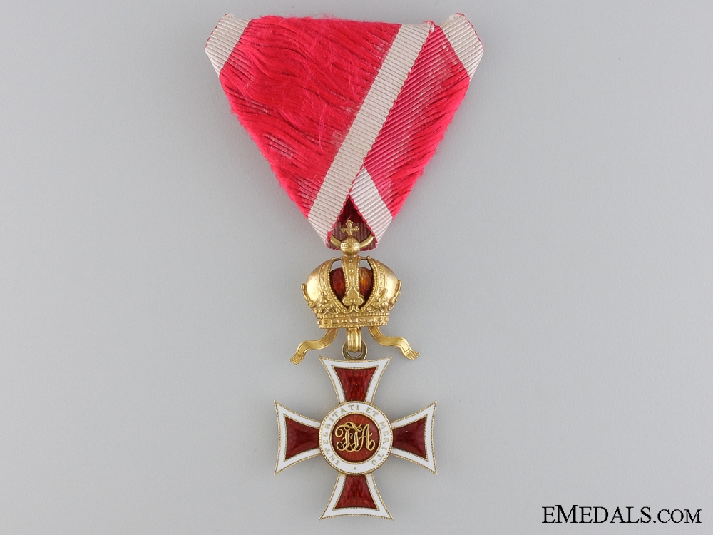 eMedals-A 1860-1866 Order of Leopold in Gold; Knight's Cross