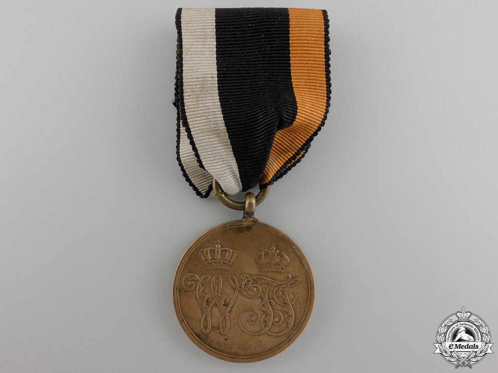 eMedals-A 1864 Prussian Denmark War Medal for Combatants